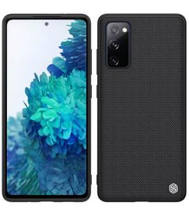 "Juodas dėklas Samsung Galaxy S20 FE telefonui ""Nillkin Textured Hard Case"""