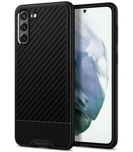 """Juodas dėklas Samsung Galaxy S21 telefonui """"Spigen Core Armor"""""""