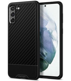 """Juodas dėklas Samsung Galaxy S21 Plus telefonui """"Spigen Core Armor"""""""