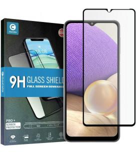 """Juodas apsauginis grūdintas stiklas Samsung Galaxy A32 5G telefonui """"Mocolo TG Full Glue"""""""