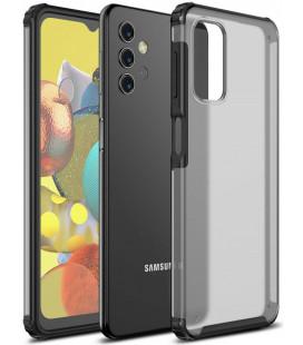"Juodas dėklas Samsung Galaxy A32 5G telefonui ""Tech-Protect Hybridshell"""