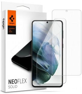 """Apsauginės ekrano plėvelės Samsung Galaxy S21 telefonui """"Spigen Neo Flex Solid"""""""