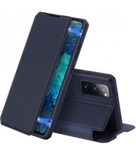 """Mėlynas atverčiamas dėklas Samsung Galaxy S20 FE telefonui """"Dux Ducis Skin X"""""""