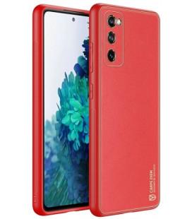 """Raudonas dėklas Samsung Galaxy S20 FE telefonui """"Dux Ducis Yolo"""""""