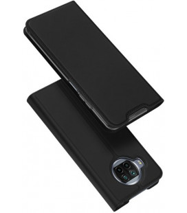 """Juodas atverčiamas dėklas Xiaomi Mi 10T Lite/Redmi Note 9T Pro/Note 9 Pro 5G telefonui """"Dux Ducis Skin Pro"""""""