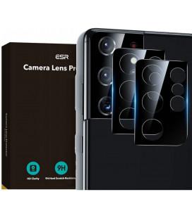 """Apsauginis grūdintas stiklas Samsung Galaxy S21 Ultra telefono kamerai apsaugoti """"ESR Camera Lens"""""""