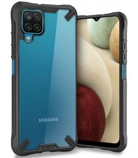 """Juodas dėklas Samsung Galaxy A12 telefonui """"Tech-protect Rzants"""""""