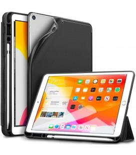 """Juodas atverčiamas dėklas Apple iPad 7/8 10.2 2019 / 2020 / 2021 planšetei """"ESR Rebound Pencil"""""""