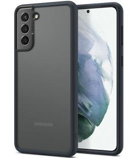 """Tamsiai pilkas dėklas Samsung Galaxy S21 telefonui """"Spigen Cyrill Color Brick"""""""