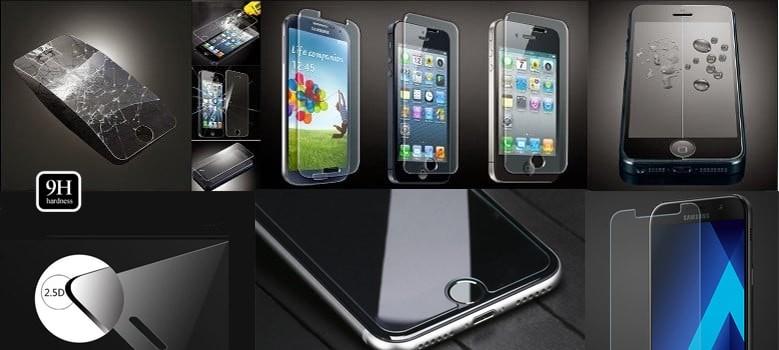 apsauginis grūdintas stiklas telefonams