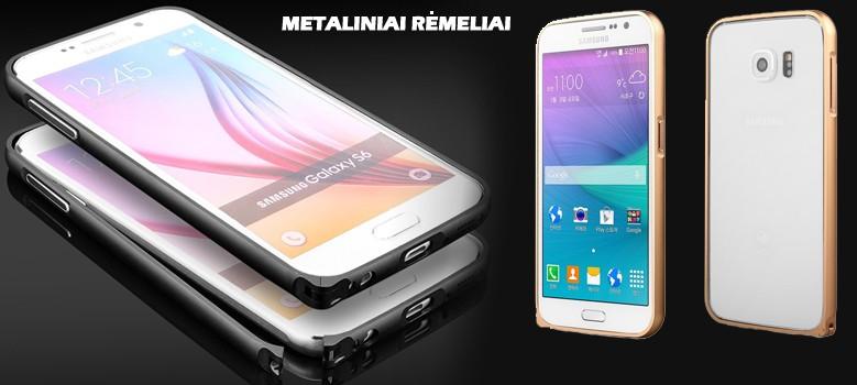 Metaliniai telefonų dėklai - rėmeliai