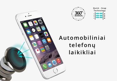 Automobiliniai telefonuų laikikliai