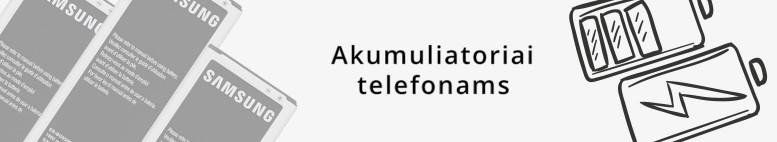 Akumuliatoriai telefonams